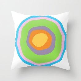 Minimalist Irregular Circles Throw Pillow