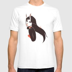 Pretty lady I saw on the street SMALL White Mens Fitted Tee