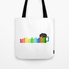 Feel The Beat Tote Bag