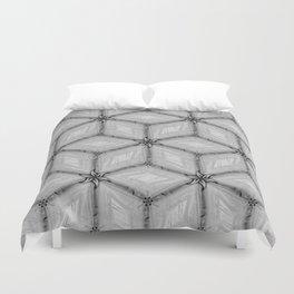GRAY TILES Duvet Cover