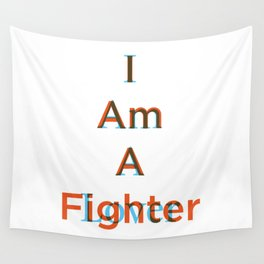 Lover and a Fighter Wall Tapestry