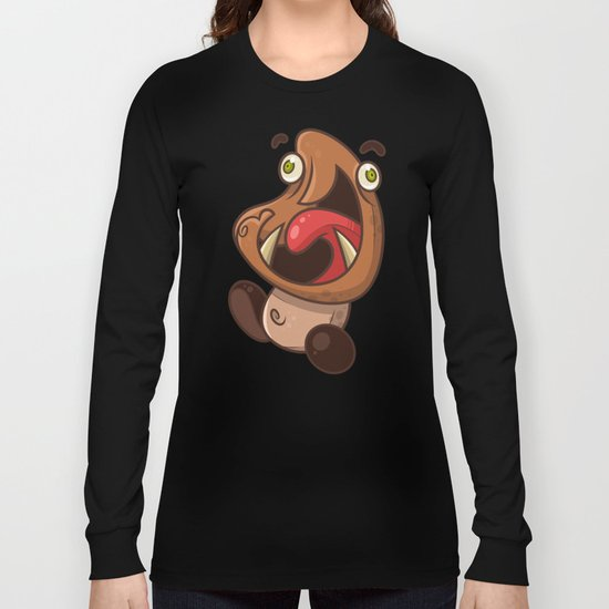 Excited Goomba Long Sleeve T-shirt