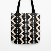 navajo Tote Bags featuring NAVAJO by bows & arrows