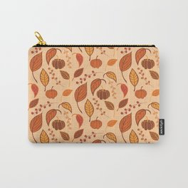 Leaves and pumpkins Carry-All Pouch