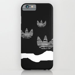 Lotus Lake Minimalism iPhone Case