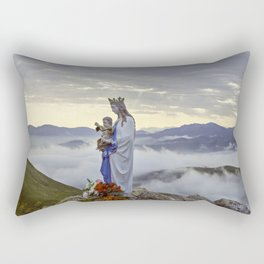 Vierge d'Orisson; Camino Frances Rectangular Pillow