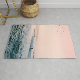 Sunset Surf Rug
