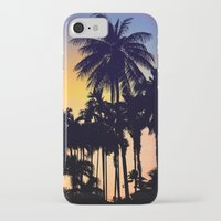 palm tree iPhone & iPod Cases featuring palm tree by mark ashkenazi