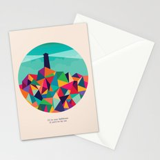 I'll be your lighthouse if you'll be my sea Stationery Cards