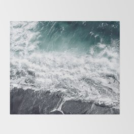 Cliff Life Throw Blanket