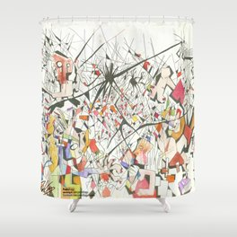 Bullying Shower Curtain