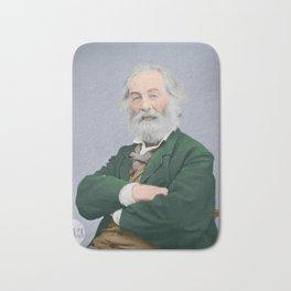 Walt Whitman - Colorized Bath Mat