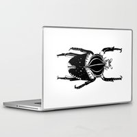 beetle Laptop & iPad Skins featuring Beetle  by Lana Alana