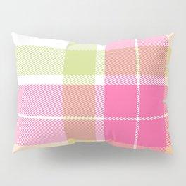 Summer Plaid 12 Pillow Sham