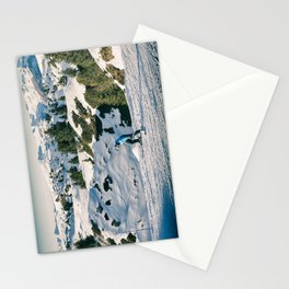 le skieur 7 Stationery Cards