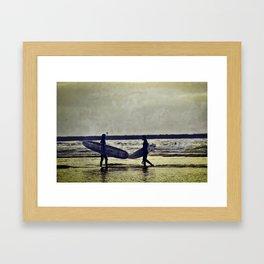 Surfers paradise  Framed Art Print