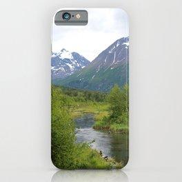 River Through The Mountains 2 iPhone Case