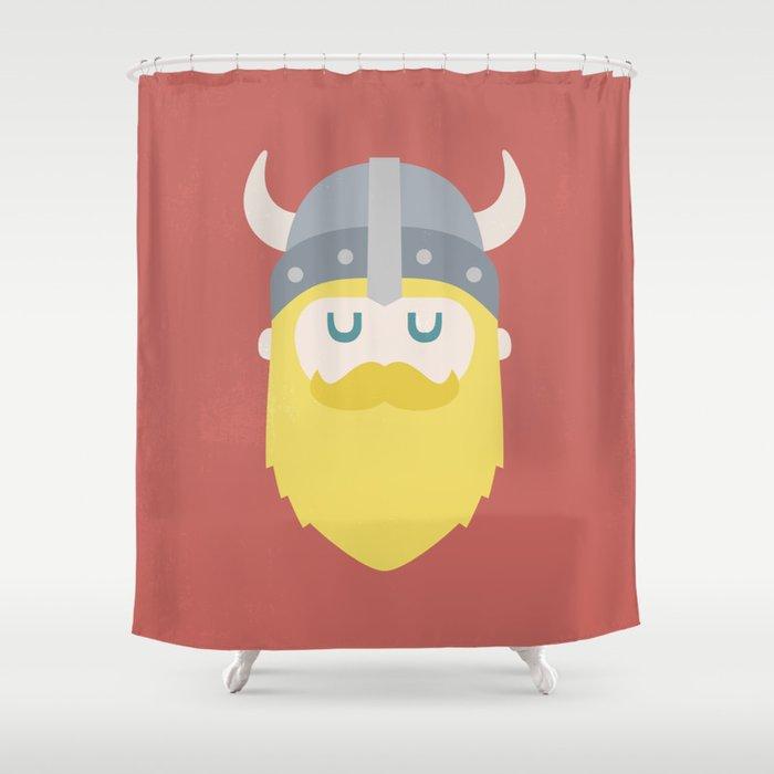 Viking Shower Curtain By Valium