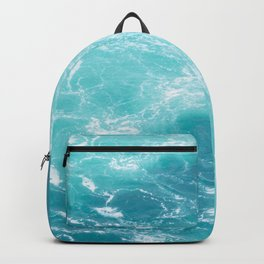 Turquoise Turbulence Backpack