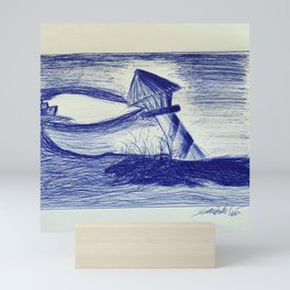Il faro Mini Art Print
