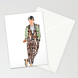 Ferris Bueller's Day Off Stationery Cards