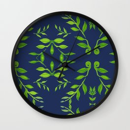 zakiaz navy dream Wall Clock