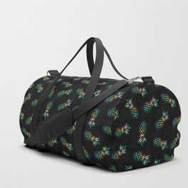 Iridescent pineapples Duffle Bag
