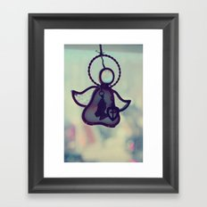 Glass Angel  Framed Art Print