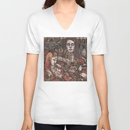 Demons In Colour Unisex V-Neck