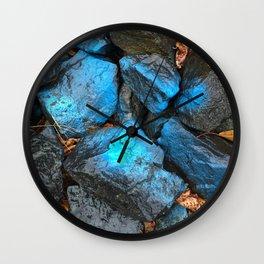 NVSV SPCS_blue rocks Wall Clock