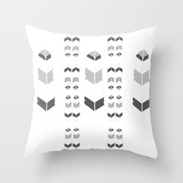 Feathersdesign Throw Pillow