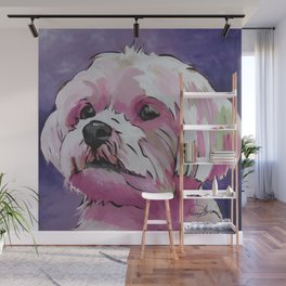 Sophie the Shorkie Wall Mural