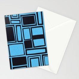 Windows & Frames - Blue Stationery Cards