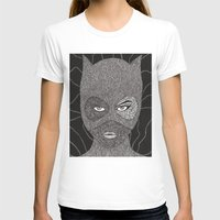 catwoman T-shirts featuring CATWOMAN by OKAINA IMAGE
