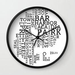 TypeMap MDI Wall Clock