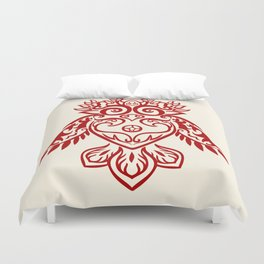 Forest Owl Duvet Cover