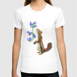 Take Time To Smell The Flowers by Teresa Thompson T-shirt