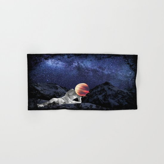 The Universe Girl Hand & Bath Towel