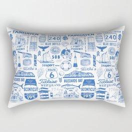 Fairhaven Massachusetts Print Rectangular Pillow
