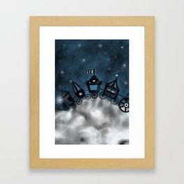 circus - stars Framed Art Print