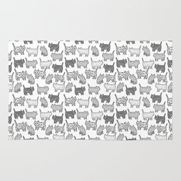 Pattern cats Rug