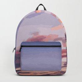 Purple Summer Backpack