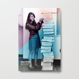 Women of NASA: Margaret Hamilton Metal Print