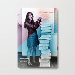 Women of NASA: Margaret Hamilton Metal Print