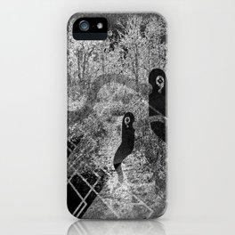 1000 days in the woods iPhone Case
