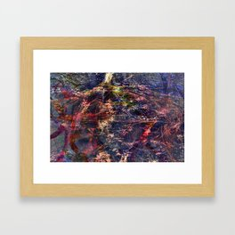 Incendia 4by Jean-François Dupuis Framed Art Print