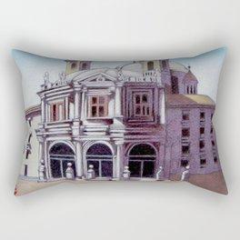 postcard from Basilica de San Francisco el Grande, Madrid, Spain Rectangular Pillow