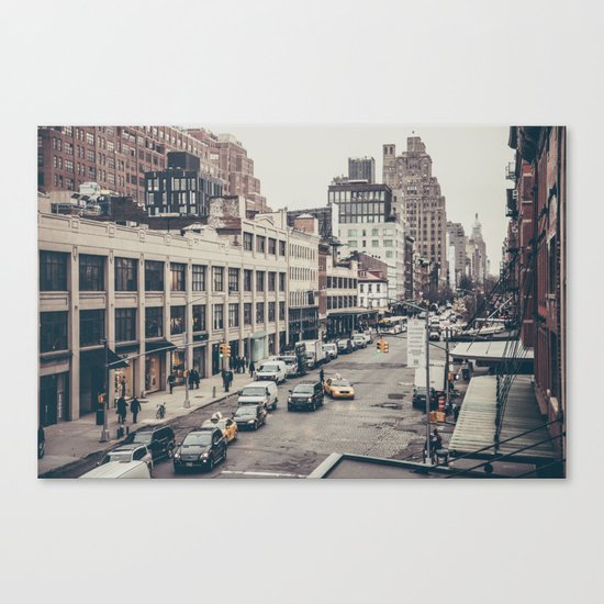 Tough Streets - NYC Canvas Print