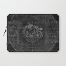 Tabula Selenographica Laptop Sleeve