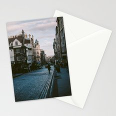 The Royal Mile in Edinburgh, Scotland Stationery Cards